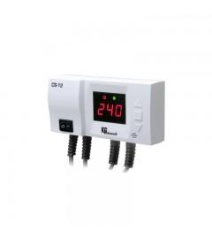 Comanda pompa de recirculare, realizand diferenta de temperatura intre 2 senzori CS-12