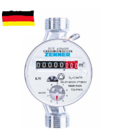 Apometru apa calda Zenner ETW clasa B DN20 - 3/4