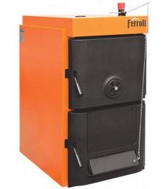 Cazan din fonta lemn/carbune Ferroli SFR Pro 4 - 20/27 kW