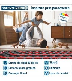 PACHET INCALZIRE IN PARDOSEALA, Valrom, 50 MP