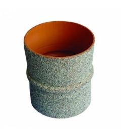 PIESA TRECERE PRIN CAMIN PVC-BETON D.110 mm