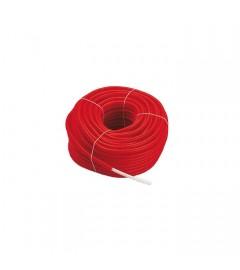 Teava pex Purmo cu bariera de oxigen 16x2 in protectie rosu, colac 100 m