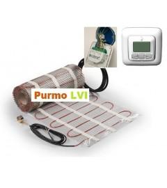 Kit covor electric Purmo CM Deltasoft 1 mp - 125 W