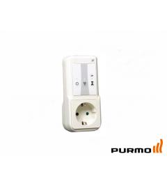Priză cu comandă de la distanță TempCo Connect 1M E3 Plug, RF web