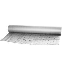 Folie izolatie plastic Tecefloor, gri, premarcata, L=100mxl = 1,12m, grosime 0,11 mm