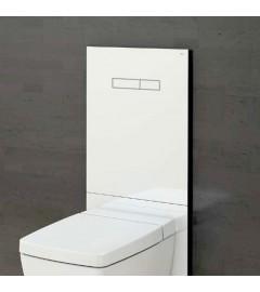 "TECE LUX-100 "" sen-TOUCH "" + placa inferioara alba - WC standard"