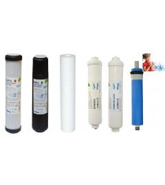 Set filtre osmoza inversa cu mineralizare