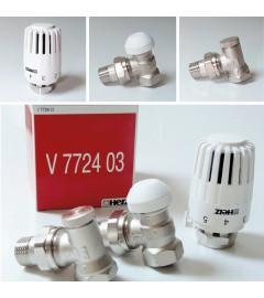 Set robinet termostatic Projekt si robinet de retur Herz DN15