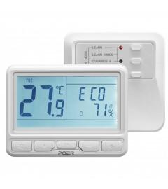 Termostat wireless programabil pe internet cu aplicatie smartphone POER - Termostat centrală