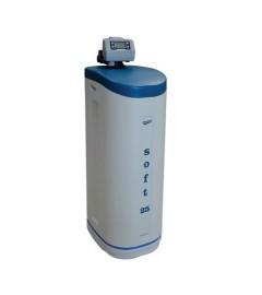 STATIE DEDURIZARE aquaPUR SOFT 25 Q=2,0mc/h SARE 62KG (CU BY-PASS)